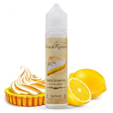 TARTE D'ANTAN - Tarte au citron meringuée